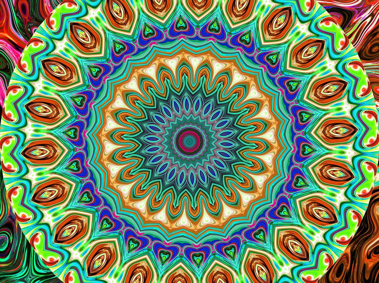 Malujemy mandalę. Co znaczą kolory w mandali według Junga? Kolory duszy
